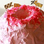Birthday Angel Food Cake // treatswithatwist.com