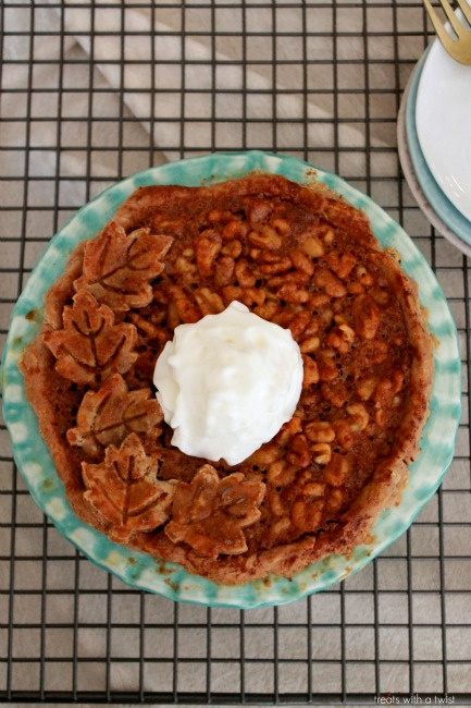 Salted Maple Walnut Pie 2