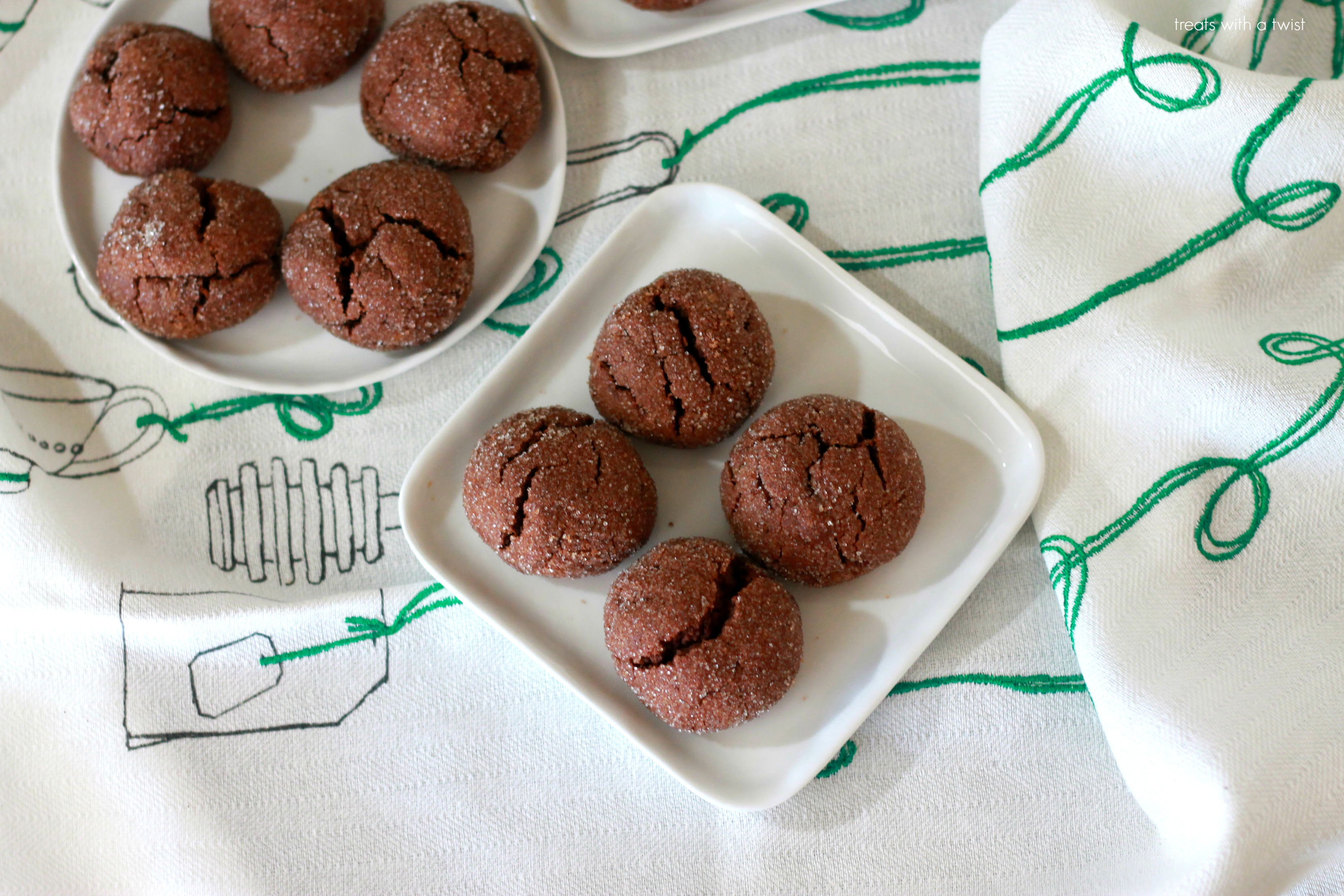 Chocolate Peanut Butter Pillow Cookies 1
