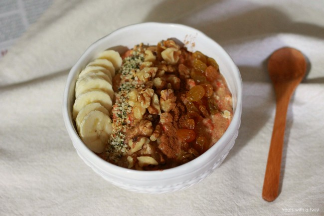 Carrot Cake Oatmeal 3