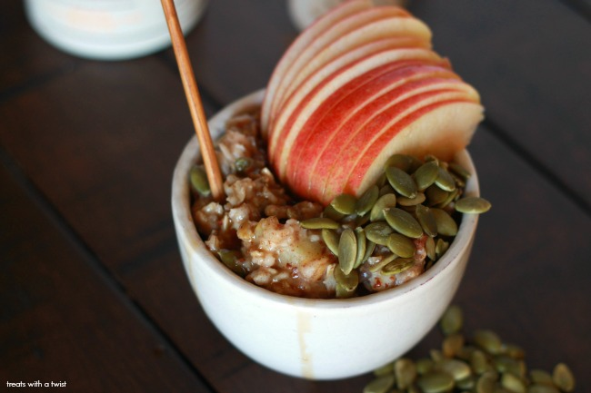 Apple Pie Oatmeal 5