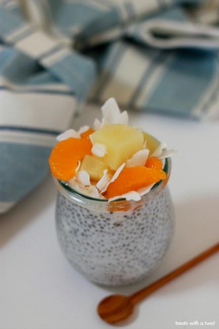 Spring Fruit Salad Chia Pudding 1