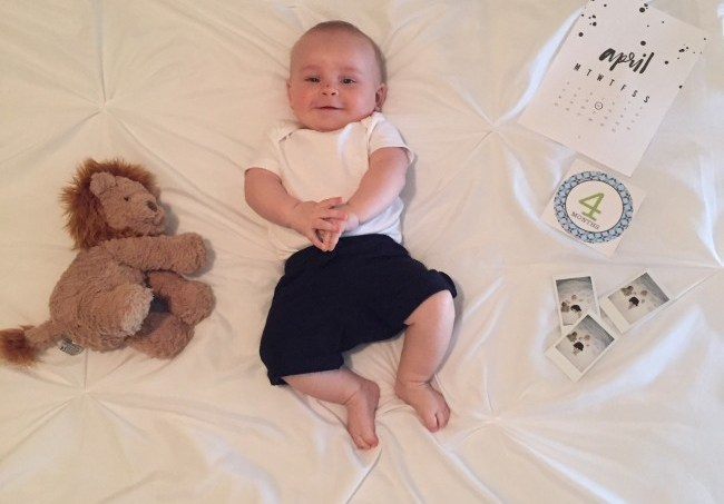 Life With Canaan: 4 Months In // treatswithatwist.com