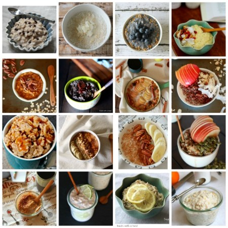 16 Comforting and healthy oatmeal recipes // gluten free // treatswithatwist.com