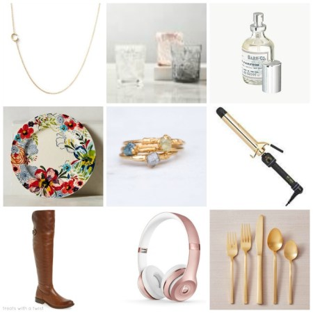 Birthday Wish List 2017 / Summer Gift Guide // treatswithatwist.com