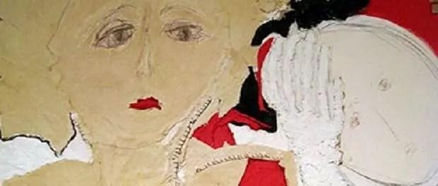 Malka Nedivi woman in red dress 620