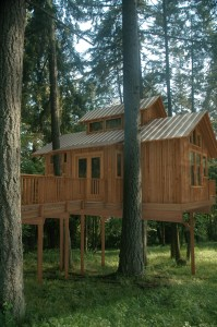 Deer Haven Farms finished Treehouse visualization by Ascension Studios