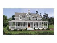 Colonial House Plans with Wrap around Porches Country ...
