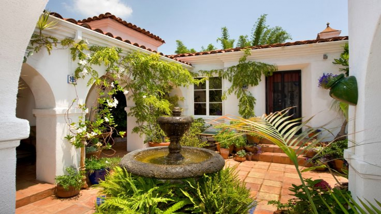 Mediterranean Style Homes Spanish Style Homes With