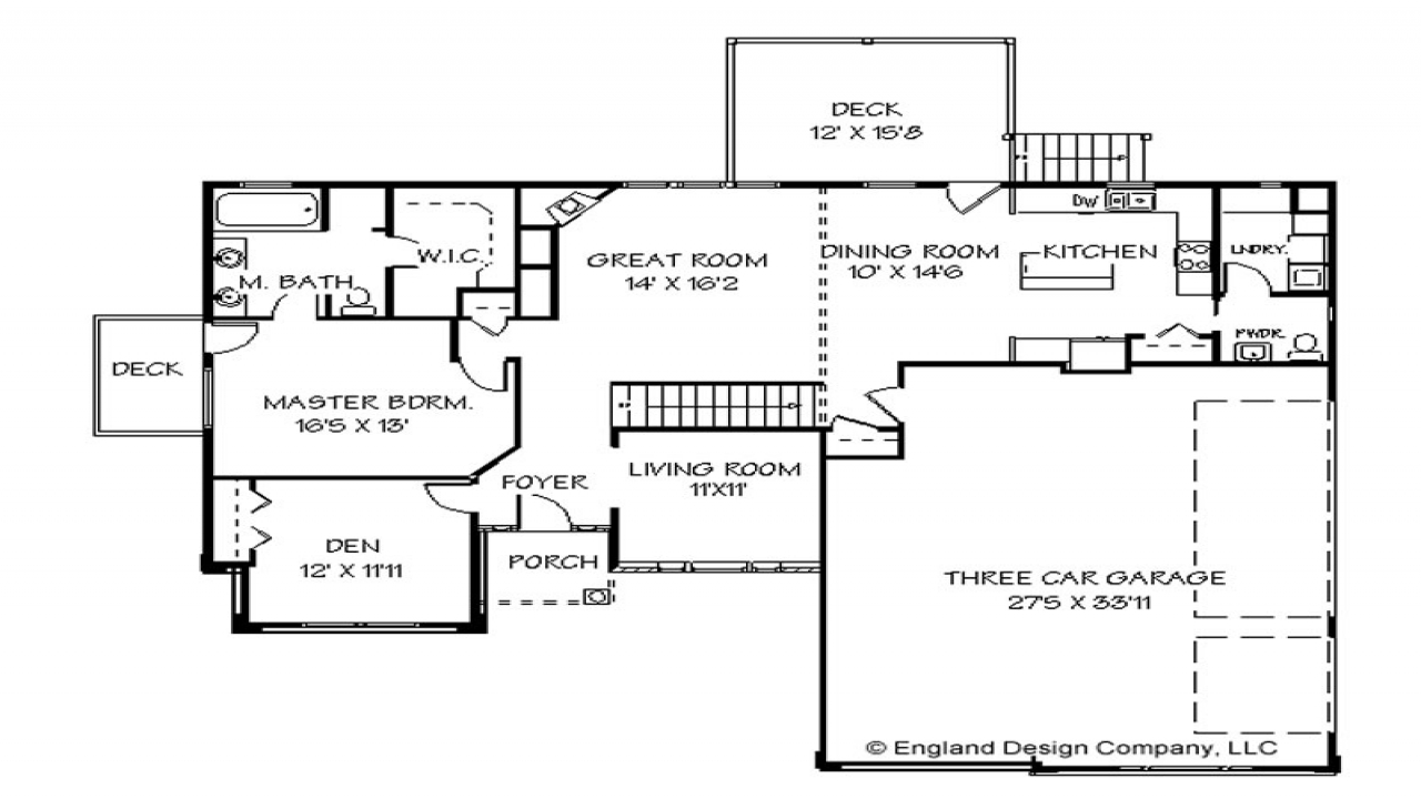 One Story House Plans Small One Story House Plans House