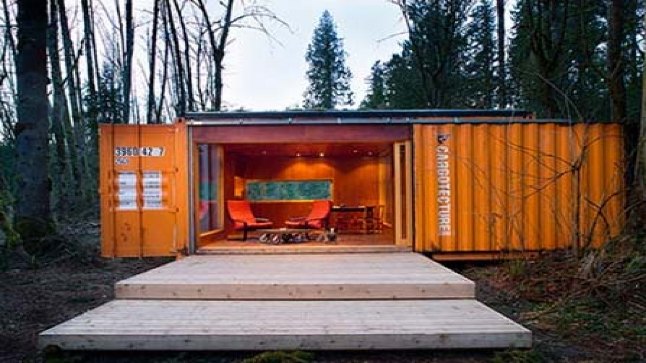 Shipping Containers Into Homes Shipping Container Home