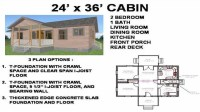 28 X 36 House Plans 24X36 Cabin Floor Plans, small cabin ...