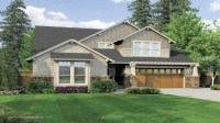 story Craftsman with Vaulted Ceilings Vaulted Church ...