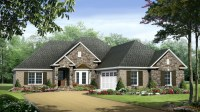 One Story House Plans One Story House Plans with Wrap ...