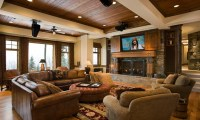 Pottery Barn Living Rooms Modern Rustic Living Room Design ...