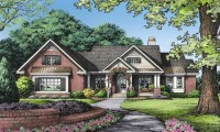 One Story Brick Ranch House Plans One Story Ranch Style, 1