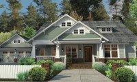 Craftsman Style House Plans with Porches Craftsman House ...