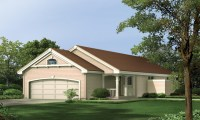 Narrow House Plans with Front Garage Narrow House Plans ...
