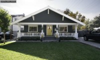 Craftsman Exterior Color Schemes Craftsman Bungalow ...