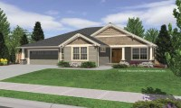 Small House Plans Craftsman Bungalow Single Story ...