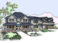 Authentic Colonial House Plans Colonial Homes House Plans ...