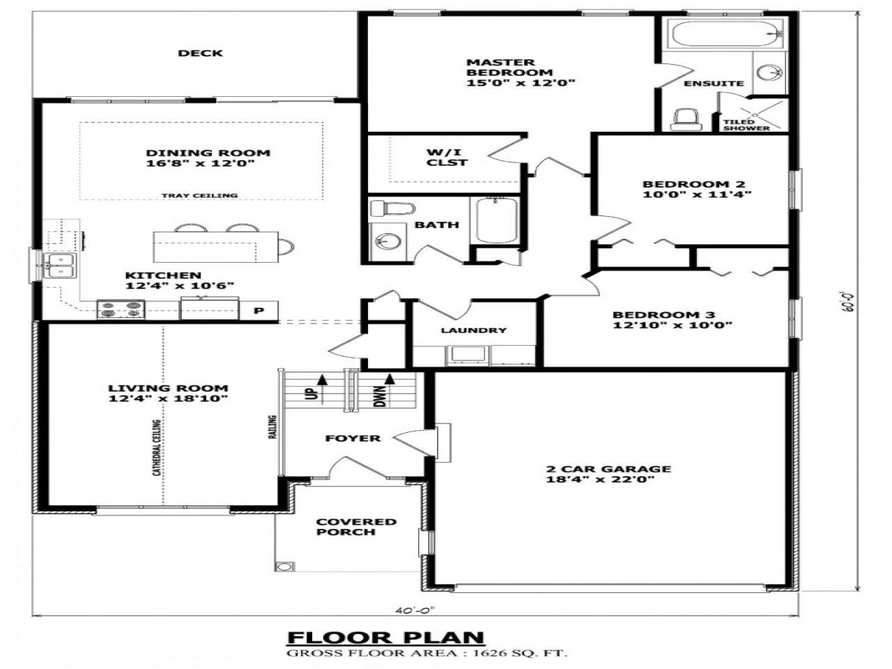 Canadian House Plans Canadian Ranch House Plans Raised