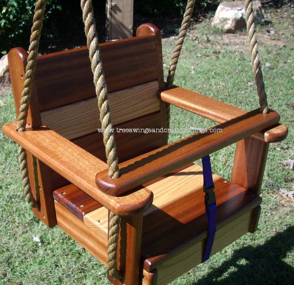 Hardwood Seat Swings