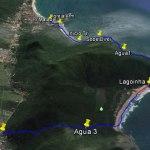 Tracklog Lagoinha do Leste via Matadeiro até Pântano do Sul