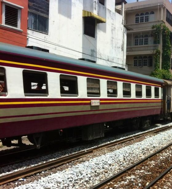 Booking Thai Railways Online