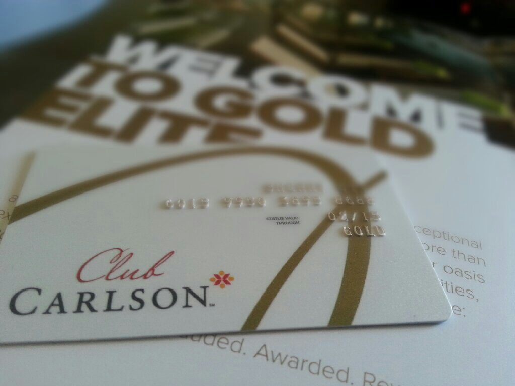 Fast Track to Gold Club Carlson Elite Status