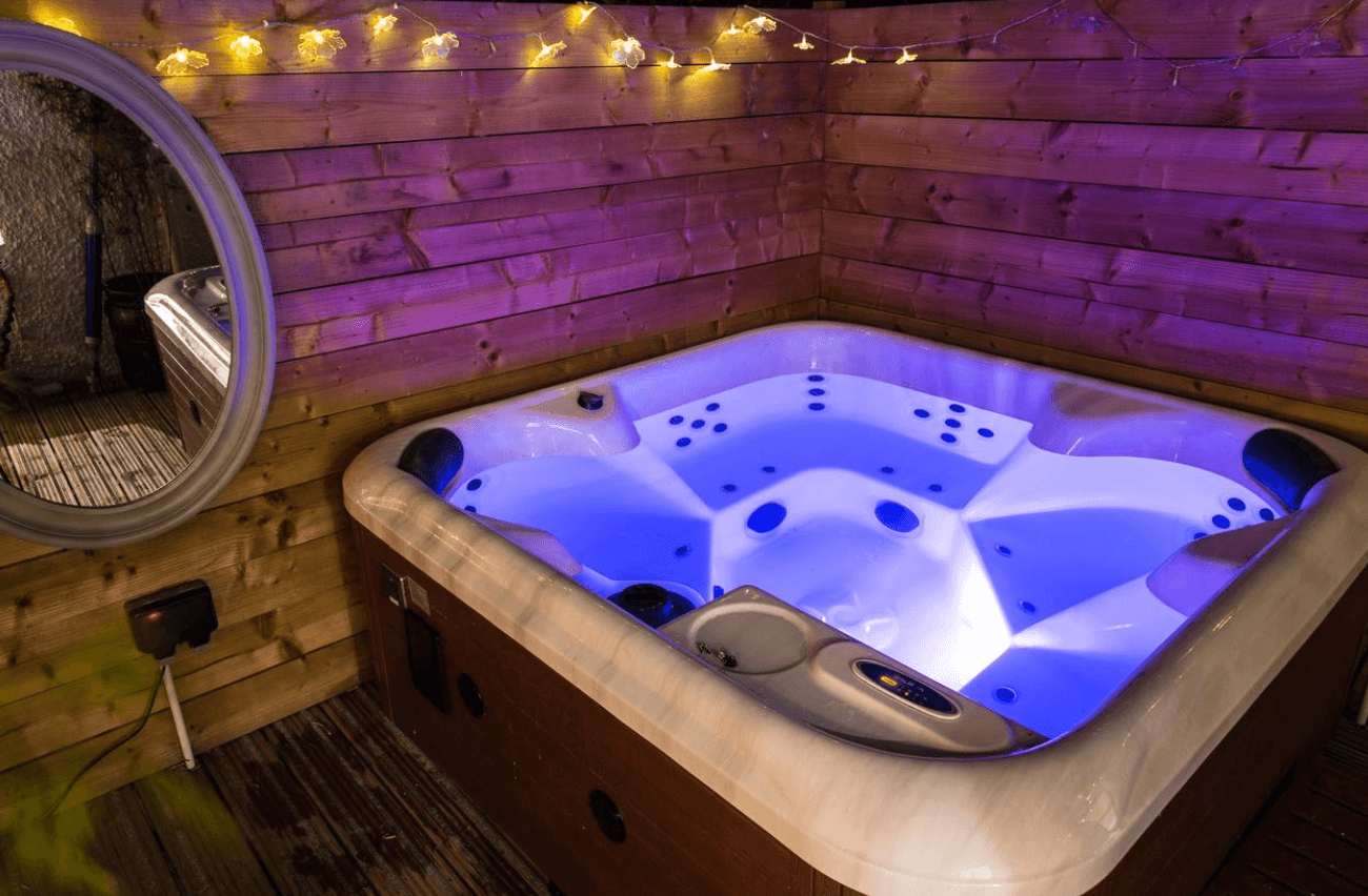Romantic Hot Tub Getaway