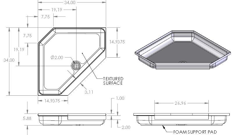 fuse small aluminum storage box