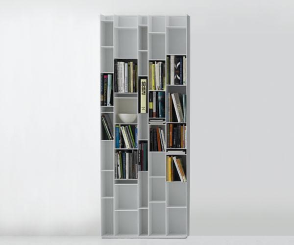 Trendbazaar Mdf Italia Random Bookcase Hvid