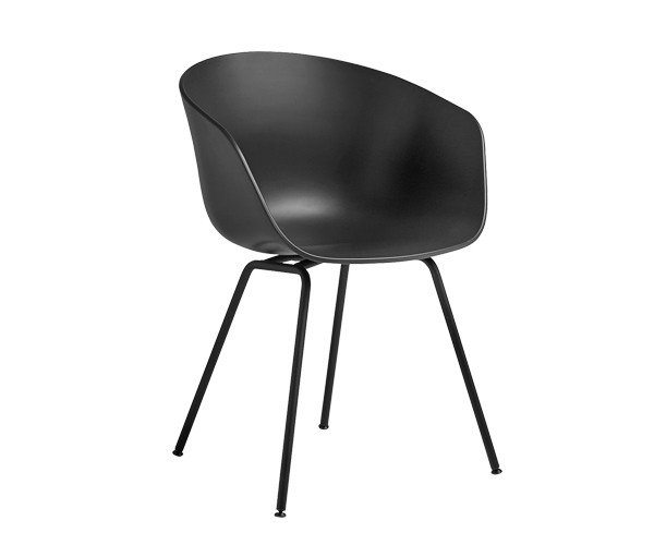 Hay About A Chair Aac26 Soft Black Black Spisestole