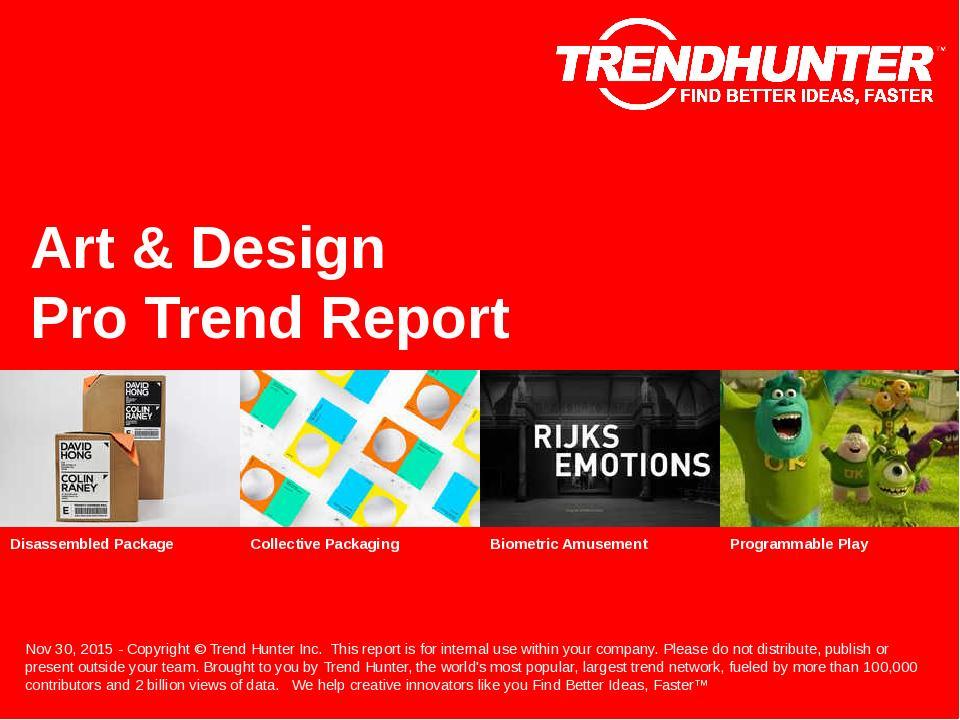 Art  Design Trend Report  Custom Art  Design Market Research