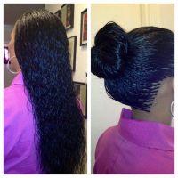 Wet And Wavy Micro Braid Hair