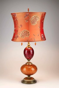 Artistic Table Lamps by Kinzig Design - eclectic and beautiful