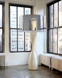 Inside-Out Design: Oversized Floor Lamps