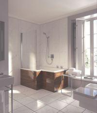 Duravit Seadream shower and bathtub combo