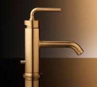 Brushed Gold Bathroom Faucets by Kohler   Designer Homes