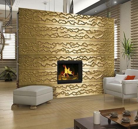 contemporary wall panels
