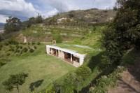 House Built into a Hill | Modern House Designs