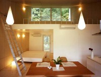 Small Home Design Ideas - metal clad house with wood ...