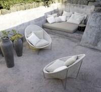 Stone Patio Furniture Idea - making stone or concrete ...
