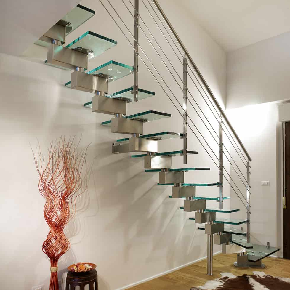 stairs transparent