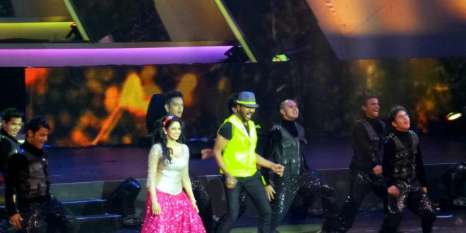 Sridevi With PrabhuDeva At 14th IIFA awards Macau