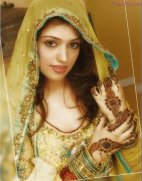 Traditional Mehndi Dresses 2011