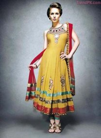 bridal mehndi dress collection 2013 1