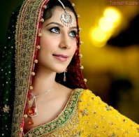bridal mehndi dresses 2011 3