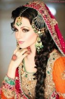 latest beautiful bridal mehndi dress